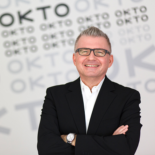 Christian Jungwirth, Geschäftsführer Okto